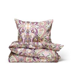 Odd Molly | Home | Interior | Bedset | Campaign | Pillow and duvet cover | Paisley | Multi | www.oddmolly.com