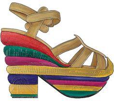 Shoe Design by Giselle Luske