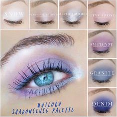 ShadowSense unicorn palette I would love to tell you about the amazing products SeneGence offers. From skin care to LipSense, we have something for everyone. Message me to order or ask me how you can join my team. You can also find me at Facebook.com/KissandMakeupinIndiana. Independent Distributor #366038
