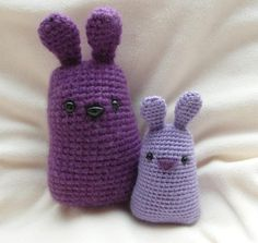 purple bunny by  Justyna Kacprzak