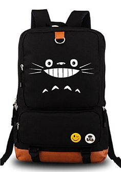 Siawasey® My Neighbor Totoro Anime Cartoon Canvas Backpack School Shoulder Bag Siawasey http://www.amazon.com/dp/B00VE3ACQO/ref=cm_sw_r_pi_dp_Lj5Rwb0ZM7FAE