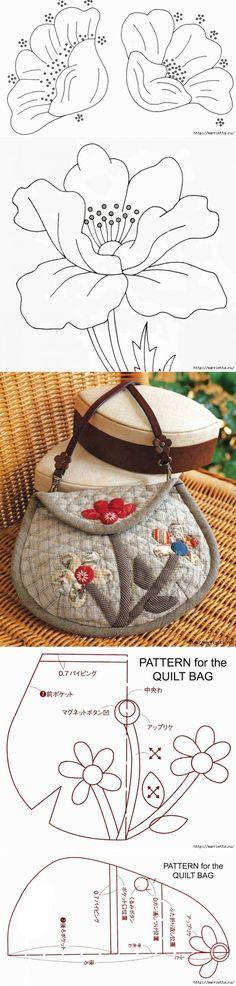 Украшаем платье аппликацией и шьем сумочку...♥ Deniz ♥