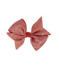 Lazo Glitter mediano - Rojo