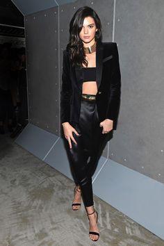 Kendall Jenner in Balmain x H&M