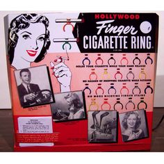 Yes! Finger Cigarette Ring.