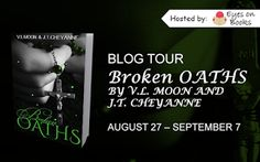 NEPHY'S WORLD: Broken Oaths by V.L. Moon and J T Cheyanne