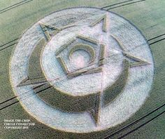 Crop Circle at The Whispering Knights, nr Rollright Stones, Oxfordshire. Reported 15th July 2015