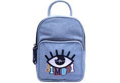 Denim Mini Backpack