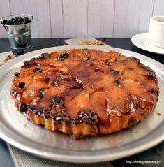 A vegan apple tarte tatin! Scrumptious and healthy! Healthy Afternoon Snacks, Healthy Vegan Snacks, Delicious Vegan Recipes, Vegan Sweets, Vegan Desserts, Vegan Food, Tasty, Pescatarian Recipes, Going Vegan