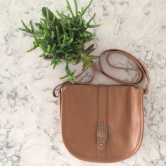 Brown Crossbody Brand new with tag. Cute brown crossbody bag with front buckle embellishment. Front button closure. Interior zipper closure and two open pockets.                                                                    15% OFF Bundles of 2+ items Find me on Instagram @see.seasew Forever 21 Bags Crossbody Bags