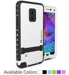 Note 4 Waterproof Case, Ghostek Atomic Series for Samsung Galaxy Note 4 Shockproof Armor Slim Hybrid Impact Liquid Swimming Diving Dirtproof Dustproof Snowproof Hard Soft Shell Cover Case (White) Mobile Phone Cases, Phone Covers, Cell Phone Cases, Iphone Cases, Iphone 6, Cellular Accessories, Cell Phone Deals, Swimming Diving, Galaxy Note 3