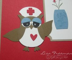 Stampin up owl punch ideas