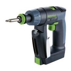 Festool CXS Compact Cordless Drill Driver - Batteries - Festool sold at Highland Woodworking, authorized Festool dealer. Cordless Drill Batteries, Cordless Tools, Fes, Highland Woodworking, Carpentry And Joinery, Drill Set, Drilling Holes, Wood Steel, Products