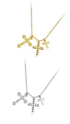 ede9251e4097 Tenemos las gargantillas de moda en la web!!! Cruces de plata 925m y