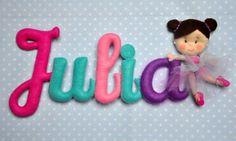 Nombre de bebé decoración cuarto de niños guirnalda por TiTics