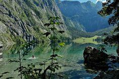 Wer zum Obersee möchte, muss den Königssee queren.