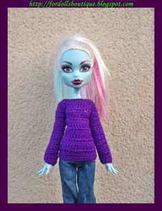 Ropa para Monster High / Monster High handmade doll clothes