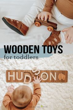 Struggling to find a perfect first birthday gift for a special one year old? We have it covered with keepsake wooden toys and gifts that are truly unique and will be treasured forever! #firstbirthday #giftideas #woodentoys Wooden Toys For Toddlers, Wooden Baby Toys, Toddler Toys, Kids Toys, Natural Parenting, Parenting Tips, New Baby Gifts, Gifts For Kids, First Birthday Gifts