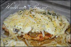 filet z kurczaka z pieczarkami i serem