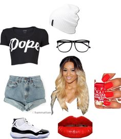 """""""Dope"""" by coco-no-pebbles on Polyvore"""