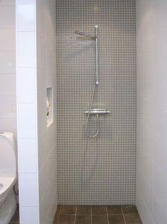 inte så snyggt m 5x5 i dusch