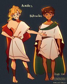 Greek Mythology Humor, Roman Mythology, Achilles And Patroclus, Fanart, Captive Prince, Percy Jackson Art, Greek Art, Cute Wallpaper Backgrounds, Greek Gods