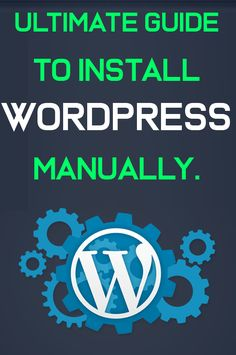 Install Wordpress manually in Cpanel, Wordpress is popular Content Management System (CMS) and easy to use. Step Guide, Digital Marketing, Wordpress, Management, Tips, Counseling
