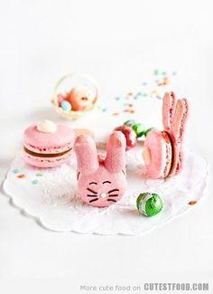 Bunny Macarons                                                                                                                                                                                                                                                                                                                                                                                                                                                      Bunny Macarons