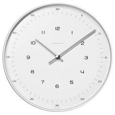 """Max Bill Wall 12"""" Clock 367/6047.00"""
