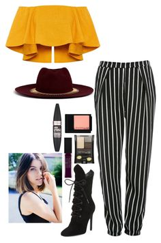 """""""love"""" by stayve-oxfords-marie-nike on Polyvore featuring Kendall + Kylie, Glamorous, Maybelline and Venna"""