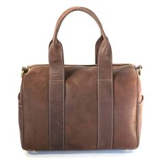 Leather Tan Barrel Bag | Betty and Betts