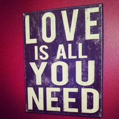 Photo by dancings4dreamers #quote #truth #Love is all you need! ;)