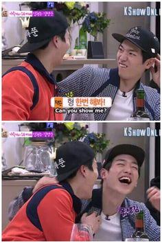 #kangjoon #jackson #sbsroommate #roommates2