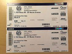 2 Fussball Tickets 1. FSV Mainz 05 vs SV Werder Bremen 18. Feb 2017sparen25.com , sparen25.de , sparen25.info