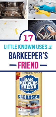 Barkeeper's friend can be widely used for cleaning in your home thanks so many cleaning tips and tricks it has making it a must have in your home. How To Clean Burners, Clean Stove Burners, Clean Stove Top, Clean Oven, Cleaning Rust, Cleaning Hacks, Weekly Cleaning, Cleaning Recipes, Diy Cleaning Products