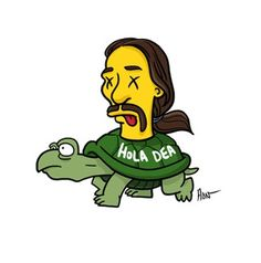 Tortuga from Breaking Bad Simpsonized by ADN - Simpsons Breaking Bad Party, Breaking Bad Series, Breaking Bad Meme, Breaking Bad Tattoo, Breking Bad, Bad Drawings, Simpsons Characters, Bad Memes, Tattoo Ideas