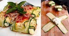 Cuketové ravioly s ricottou bez výčitek! Ravioli, Ricotta, Zucchini, Treats, Vegetables, Food, Sweet Like Candy, Meal, Essen