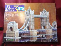 London Tower Bridge 3D Jigsaw Puzzle 819 Pieces Wrebbit Puzz3D