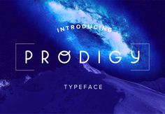 Prodigy Font 50% OFF  by Miglena Spasova on @mywpthemes_xyz