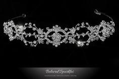Bridal Headband Bridal Crystal Headband by BelovedSparkles on Etsy