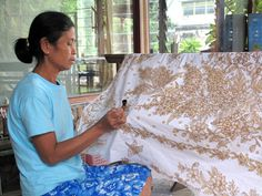 how to make our Batik Sarong/Scarf! Hand Made Batik Process! Find our more information about Hand made Batik Sarong Clothing! #batik, #sarong, #Pareo, #scarf, #surf, #lotusresortwear, #beach blanket, #shawl, #summer fashion, #lifestyle, #tip