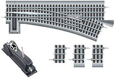 Track 99797: Lionel Fastrack O72 Remote Command Switch Left Hand Hobby Train Track -> BUY IT NOW ONLY: $128.09 on eBay!