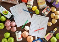 This Whole30 Meal Plan will help you prepare the right meals (without too much thought). And you have access to the right grocery lists to make things easier.