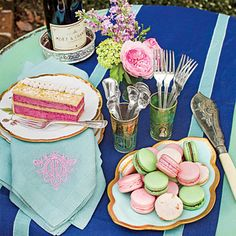 The Place Setting - Spring Garden Party Table Setting - Southern Living