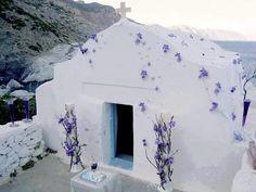 Small Chapel-Amorgos Island,  Greece