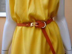 Vestido Amarelo Disponível somente no tamanho M http://www.facebook.com/CarolinaPeclatAtelie