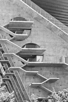 preciousandfregilethings: miguelsilvarocha: Estádio Municipal de Braga, Arq. Souto de Moura, Portugal, Abril Doismileonze (via TumbleOn)