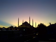 Blue Mosque, Istanbul, by twilight 2012