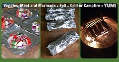 3 Delicious Camping Dishes in a Foil - WITH RECIPES!!! - theILoveCampingSite.com