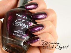 Wet n Wild Fergie A018 Ferguson Crest Syrah | #nailpolish #wishlist #iso